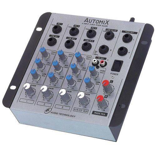 97743 Mesa de Som Mixer Automix de 4 Canais A402r Ll Áudio