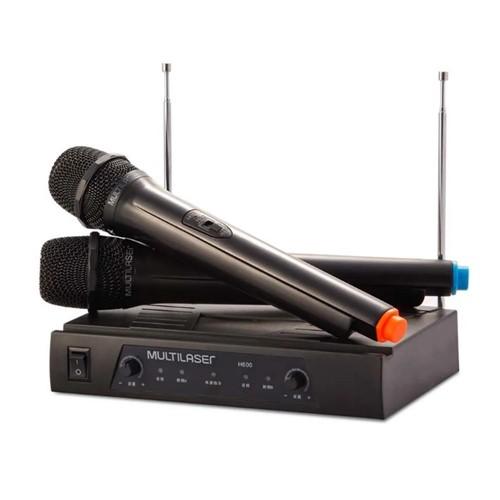Microfone Sem Fio SP328-Multilaser