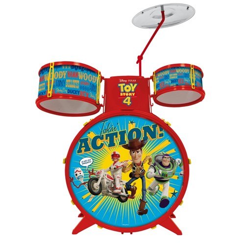 Bateria Acústica Infantil Toy Story Toyng
