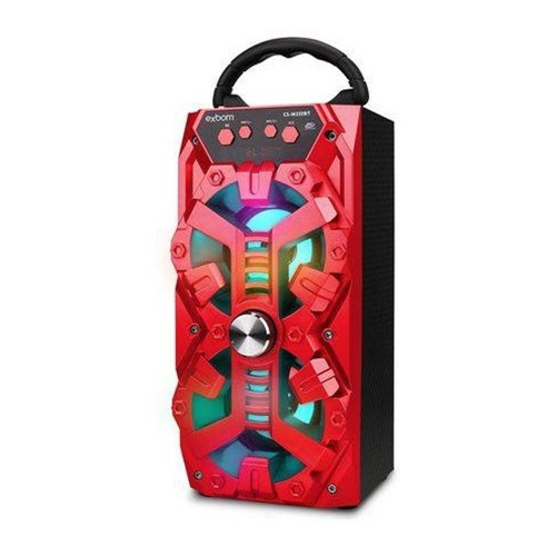 Caixa Bluetooth Super Bass 8W RMS CS-M232BT - Exbom