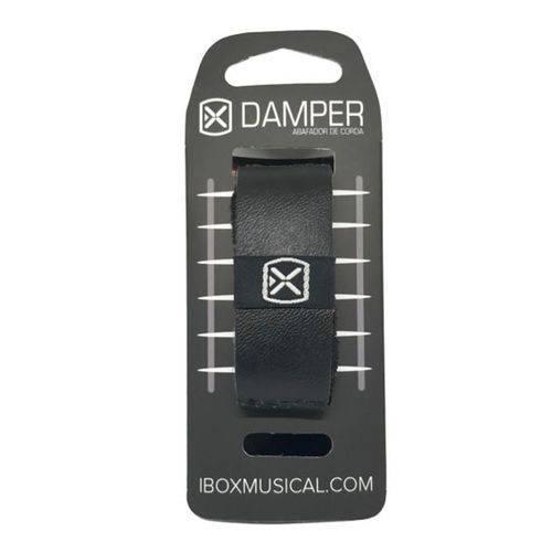 Abafador de Cordas Dampers Ibox Dssm02 Sm Preto - Pequeno