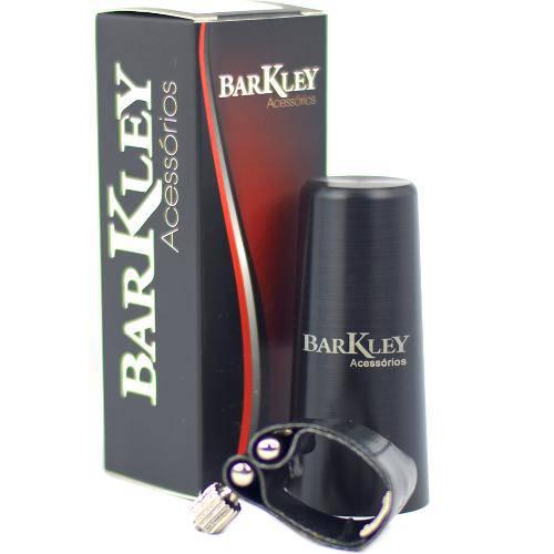 Abraçadeira Barkley Sax Soprano Boquilha Metal Cobre Abmsr2