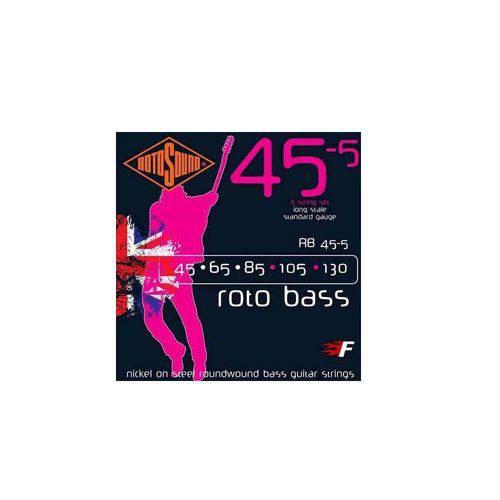 Acessorios Encordoamento Baixo Rotosound Rb45-5 (Roto Boss) 5 Cordas 45-130