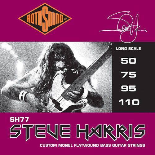 Acessorios Encordoamento Baixo Rotosound Sh77 (Steve Harris) 4 Cordas 50-110