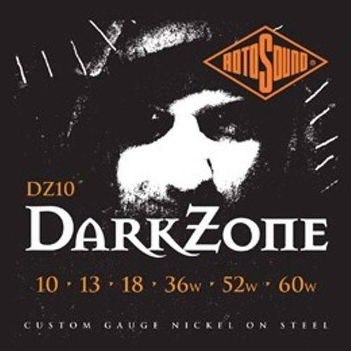 Acessorios Encordoamento Guitarra Rotosound Dz10 (dark Zone) 10/60 0.10