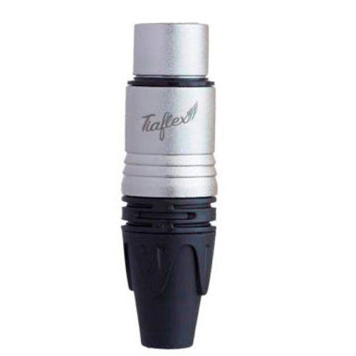 Adaptador Conector Plug Xlr Fêmea Tiaflex