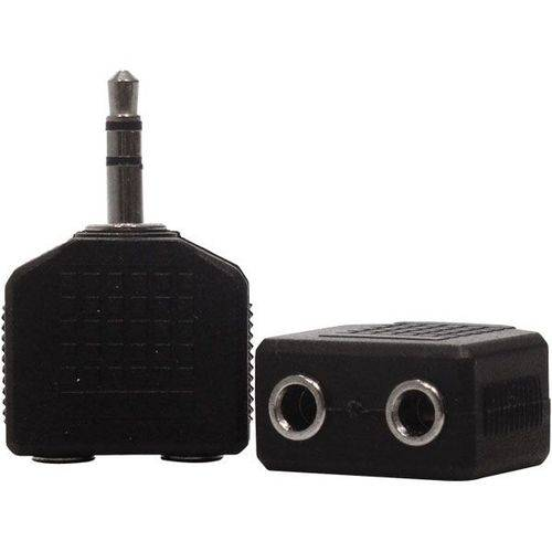Adaptador P2 Stereo X 2 Jack J2 Stereo Loud
