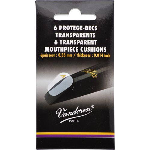 Adesivo Protetor Boquilha Vandoren Transparente Pacote com 6