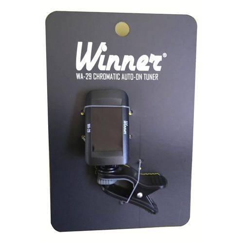 Afinador Digital LCD Winner WA 29 Cromático