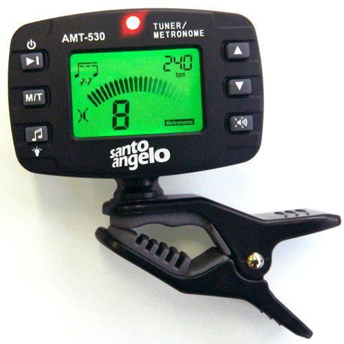 Afinador Clipe Metrônomo Cromático Amt530 Santo Angelo