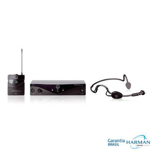 Akg - Microfone Sem Fio Headset Pw45 Sports C3