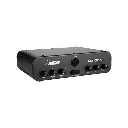 Amplificador AB100ST 2 Canais 2x30W Rms 4R LL Áudio
