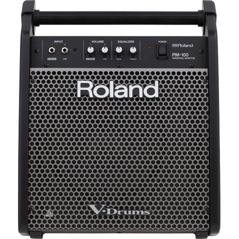 Amplificador Bateria Eletronica Roland Pm 100