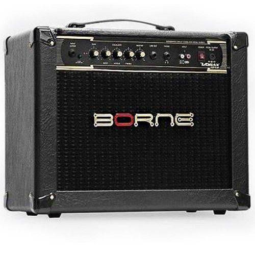 """Amplificador Borne para Guitarra Vorax 1050 10"""" 50w - Preto"""