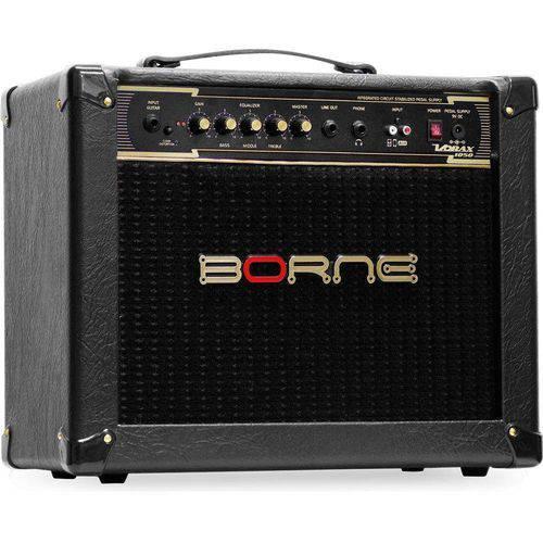 Amplificador Borne Vorax 1050 50w Cor Preto e Fonte para 5 Pedais