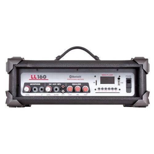 Amplificador Cabeçote Ll 160bt USB Bluetooth Am Fm 35w Rms