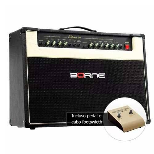 Amplificador Cubo Borne Evidence 200 150w 2x12 Cacau Santos