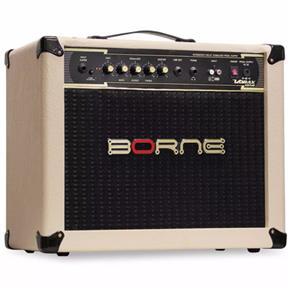 Amplificador Cubo Borne Impact Bass Cb60 20w Creme Cb 60