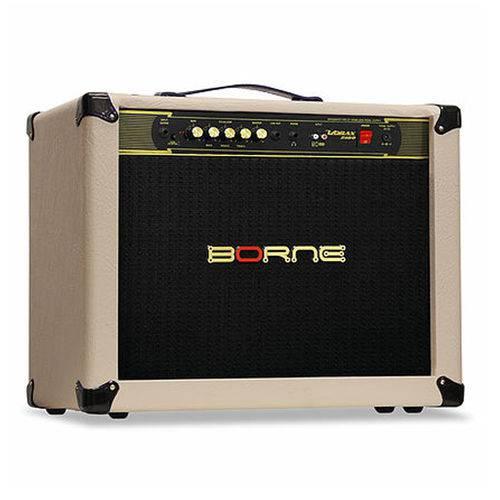 Amplificador Cubo Borne Vorax 2100 2x10 100w Gs100 Creme