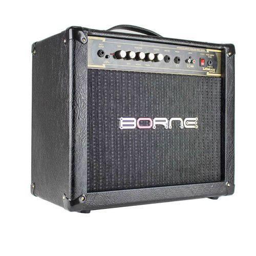 Amplificador Cubo Borne Vorax 1050 50w Preto com Fonte
