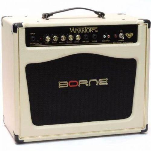 Amplificador Cubo Borne Warrior 50 Creme