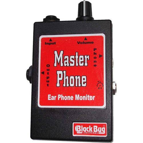 Amplificador de Fone de Ouvido Master Phone - Black Bug
