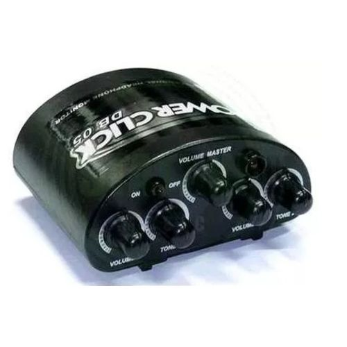 Amplificador de Fone de Ouvido Power Click Db 05 Profissional