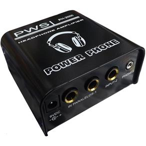 Amplificador de Fone Power Phone Ph2000 - Pws