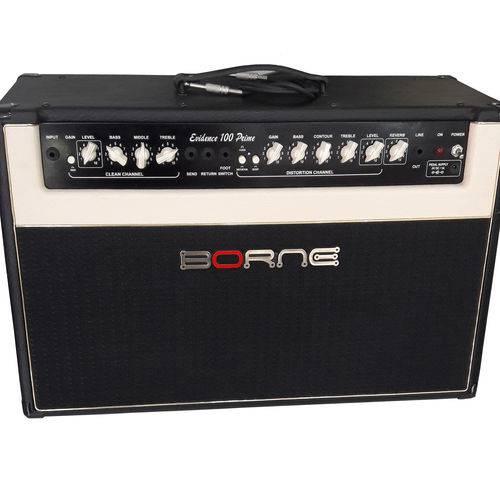Amplificador de Guitarra 100 Watts Borne Evidence 100 Prime Reverb Boost Footswitch