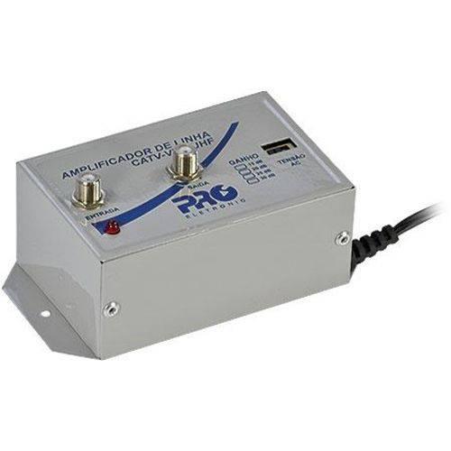 Amplificador de Linha 30db Pqal 3000
