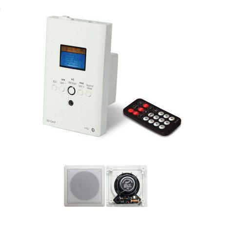 Amplificador de Parede + Caixas de Embutir - Boz Technology