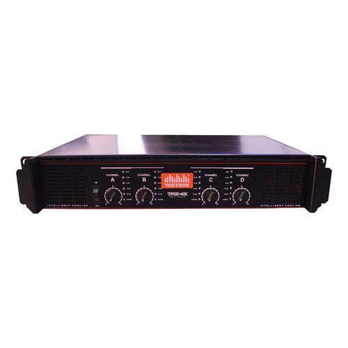 Amplificador de Potência 1000W RMS 4 Canais 4 Ohms - VOX TPX 4CH VOXTRON BY TECHAUDIO