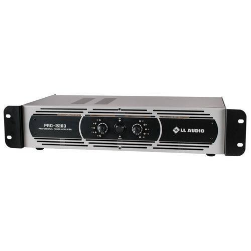 Amplificador de Potência 550W Rms Bivolt Pro2200 Ll Áudio