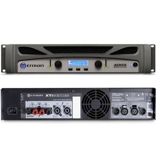 Amplificador de Potência Crown Gxti 4002-u 3200w Rms