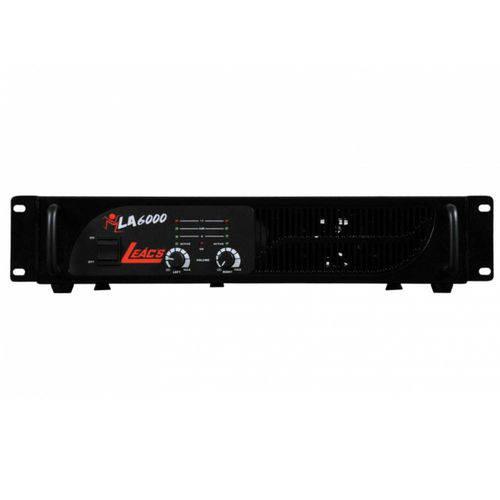 Amplificador de Potência La6000 1000 Watts - Leacs