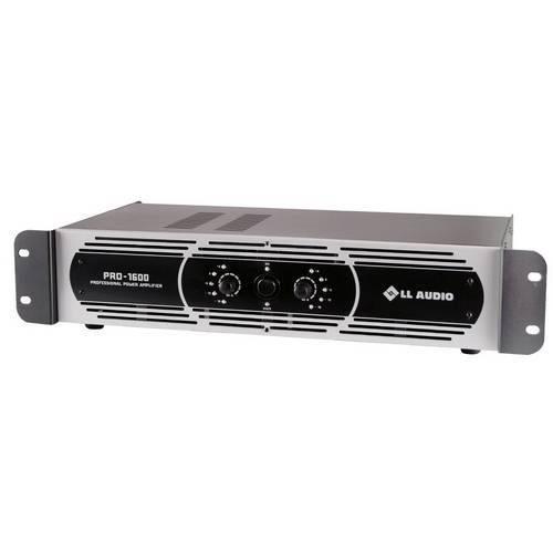 Amplificador de Potência Ll Áudio - Pro 1600 - 400 Wats Rms