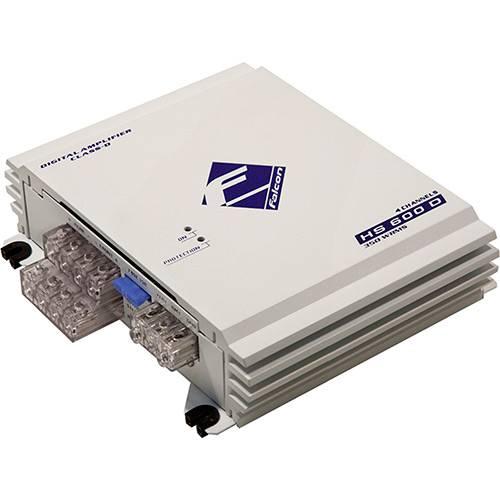 Amplificador Digital Falcon - Classe D HS 600 D 4 Canais 350 Watts RMS