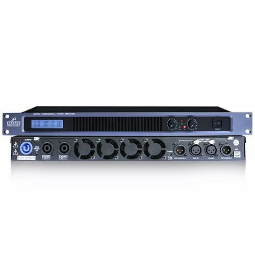 Amplificador Digital Potência Arcano Ppower-elevenci-4 1800 110v