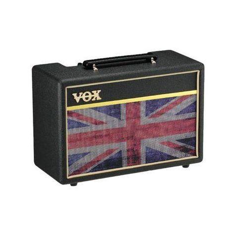 Amplificador Guitarra Vox Pathfinder 10 Uj Union Jack Bk - Preto