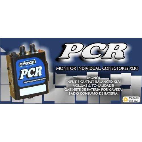 Amplificador Headphone Power Click Pcr Conexao Xlr com Fonte