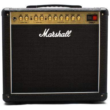 Amplificador Marshall DSL5C - Combo Valvulado para Guitarra 5W 2 Canais