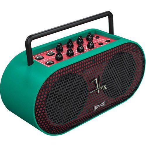 Amplificador Multiuso Stereo Portátil 5w Vox Soundbox Mini Verde