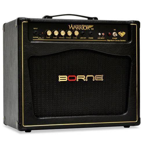 Amplificador P/ Guitarra Borne Warrior 50 Cacau Santos 50 Watts RMS