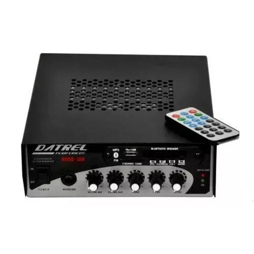 Amplificador P/ Som Ambiente Datrel Hds100 com Usb