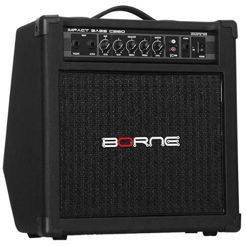 Amplificador para Baixo Impact Bass 30w Rms Cb80 Borne