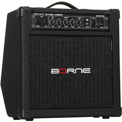 Amplificador para Contra Baixo Borne Cb80
