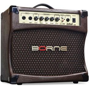 Amplificador para Violão Borne Infinit Cv80 Marrom