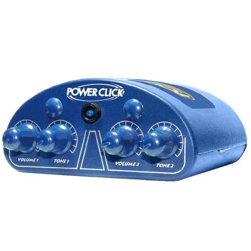 Amplificador Power Click Color Line Blue P/ Fones de Ouvido