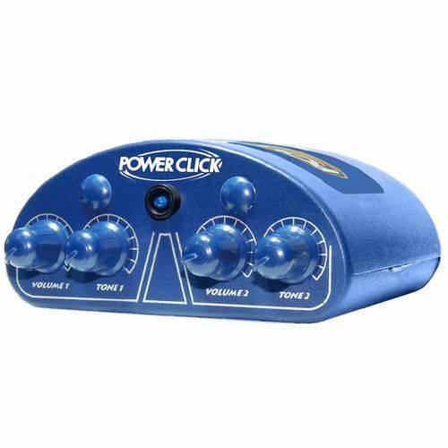 Amplificador Power Click Color Line Blue para Fones de Ouvido