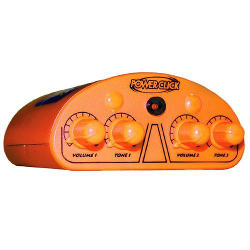 Amplificador Power Click Color Line Orange para Fones de Ouvido